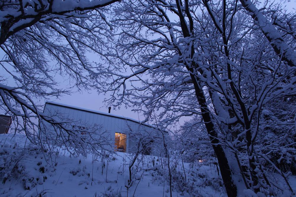平屋土間の家